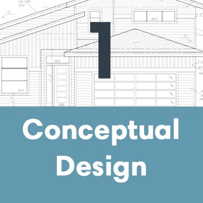 A house builder will do conceptual design