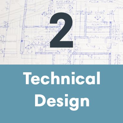 A house builder will do technical design